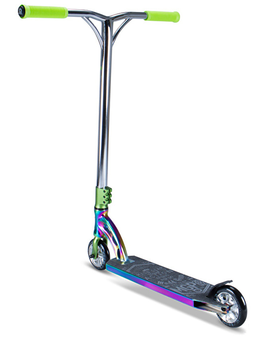 Madd MGP VX7 Team Limited Edition Scooter - Neo Chrome/Lime