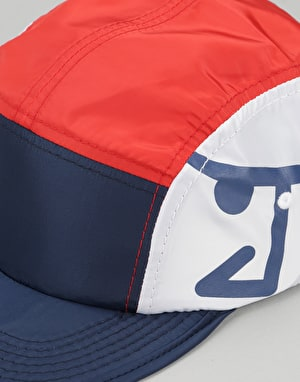 Just Have Fun Parachute Packable 5 Panel Cap - Navy