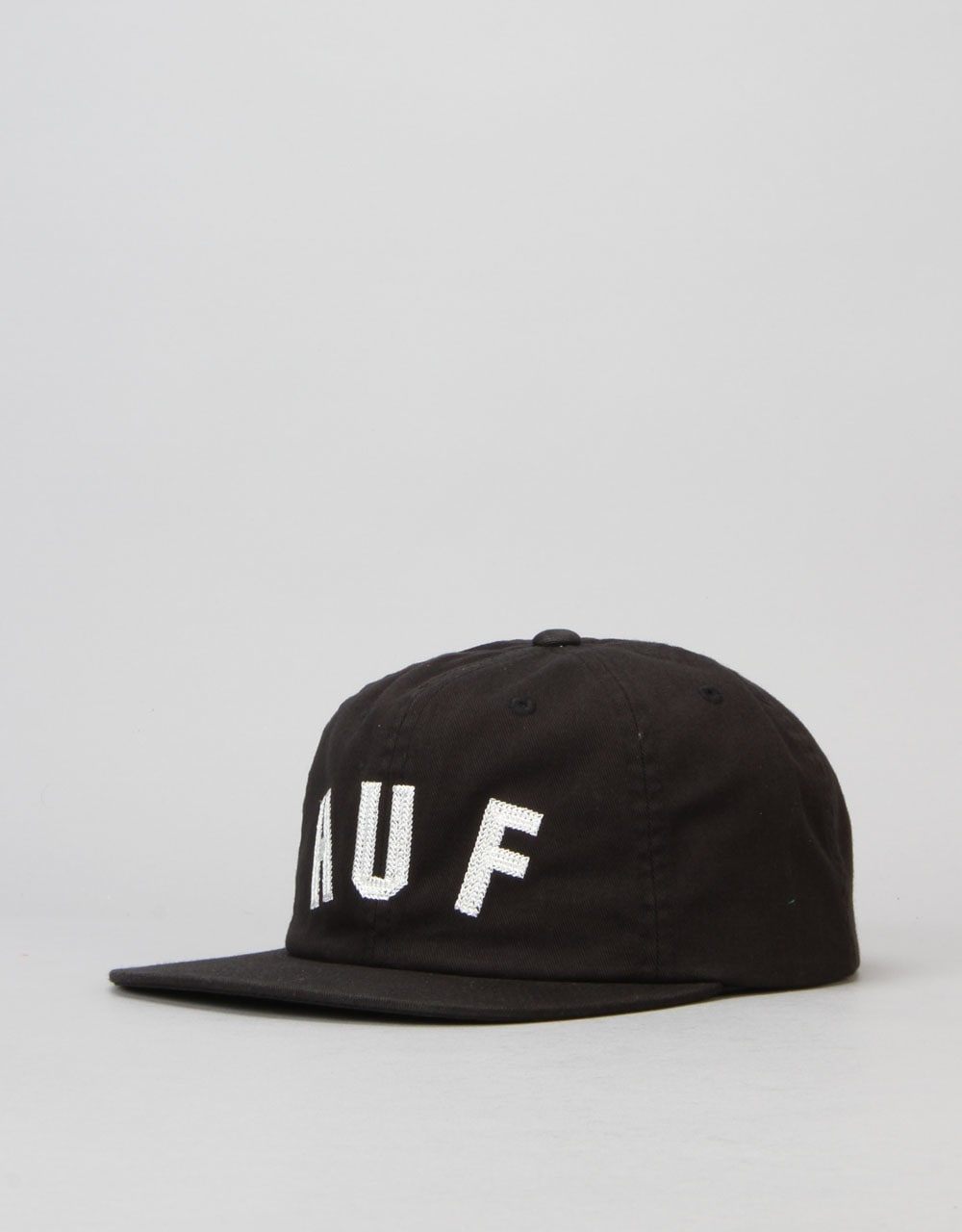 d69521cf66004 HUF Shortstop 6 Panel Cap - Black