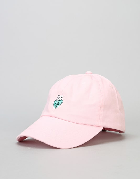 RIPNDIP Nermal Leaf Dad Cap - Light Pink