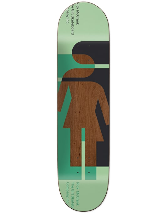 Girl McCrank Hardcourt Pro Deck - 8.375""