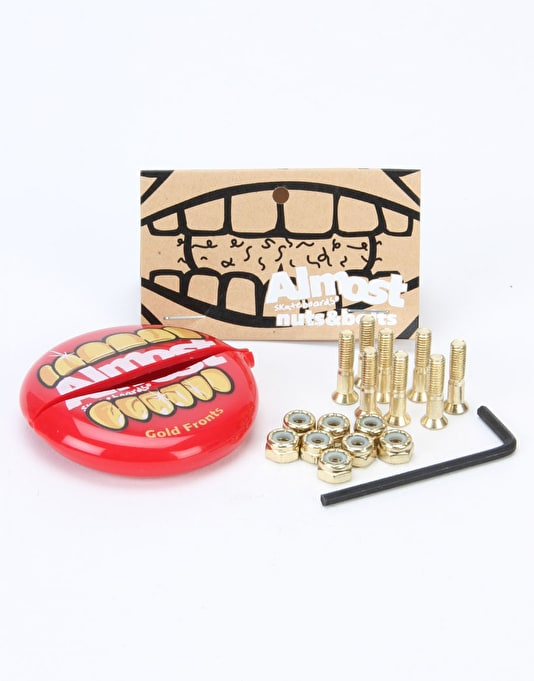"""Almost Nuts & Bolts in Your Mouth 1"""" Allen Bolts"""