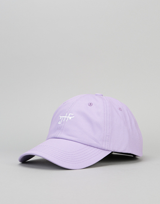 Just Have Fun Classic Skate Dad Cap - Lavender