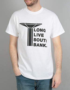 Long Live Southbank Logo T-Shirt - White