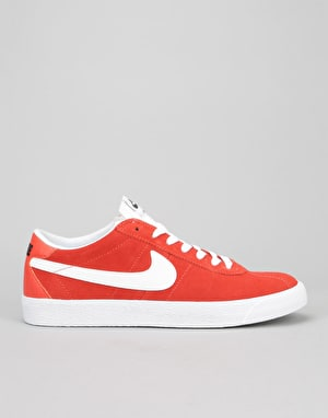 Nike SB Bruin Premium Skate Shoes - Max Orange/White-White-Black