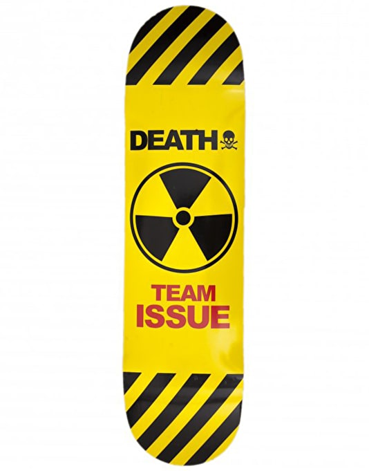 Death Team Issue Skateboard Deck - 7.5""