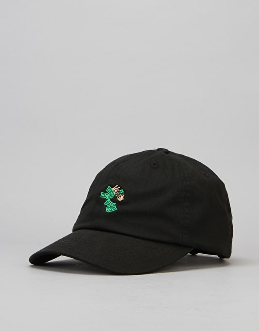 40's & Shorties Make It Rain Unstructured Strapback Cap - Black