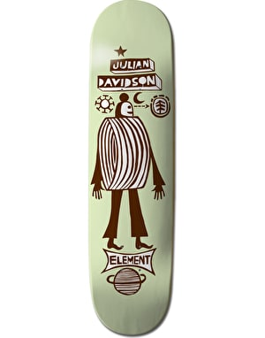 Element x F. Elvira Julian Los Amigos Featherlight Pro Deck - 8.375