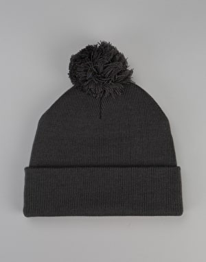 Route One Digital Bobble Beanie - Slate Grey
