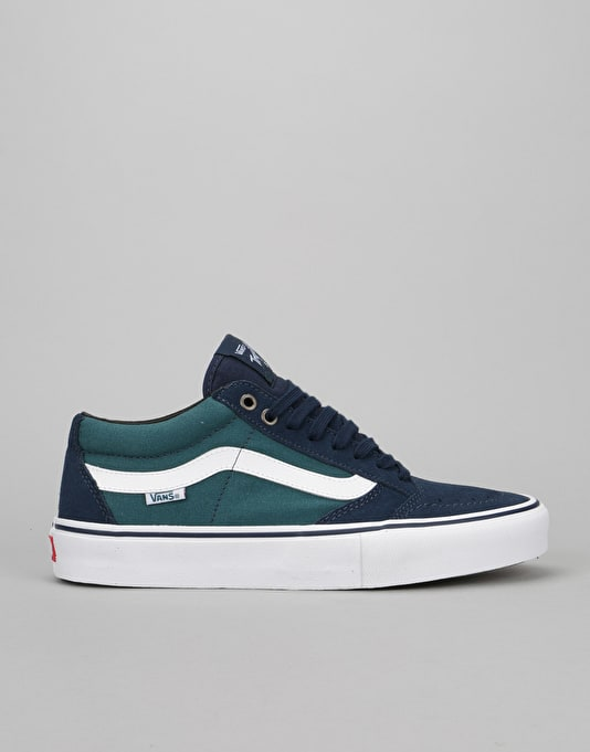 Vans TNT SG Skate Shoes - Dress Blue/Deep Teal