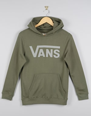 Vans Classic Boys Pullover Hoodie - Grape Leaf /Frost Grey