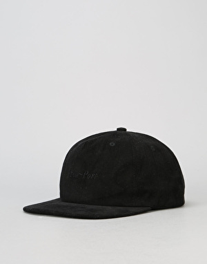 Pass Port Safe P Snapback Cap – Black