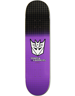 Primitive x Transformers O'Neill Decepticon Grid Pro Deck - 8.125