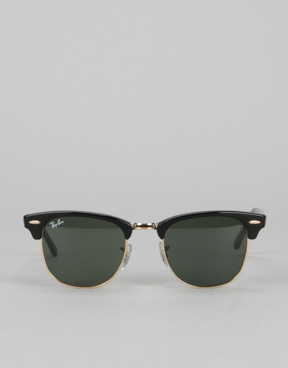 a51a24d12e Ray-Ban Clubmaster - Black Green Classic G-15 Lens RB3016 W0365 ...
