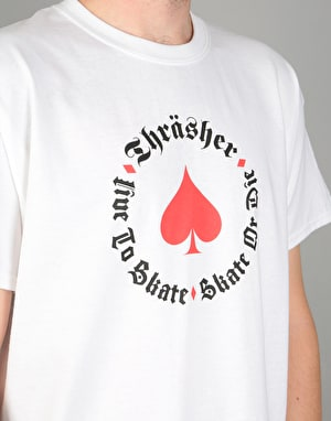 Thrasher New Oath T-Shirt - White