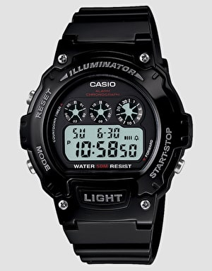 Casio W-214HC-1AVEF - Black