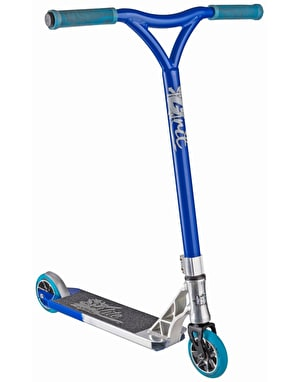 Grit Elite 2017 Scooter - Polished/Blue Metallic