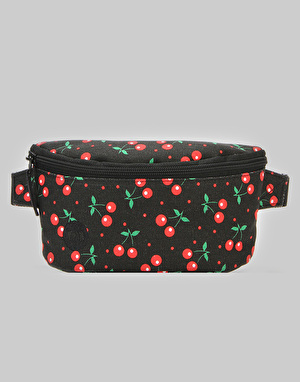 Mi-Pac Cherries Bum Bag - Black