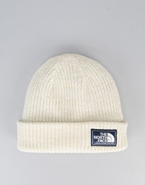 The North Face Salty Dog Beanie - Vintage White/Granite Bluff Tan Marl