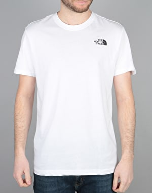 The North Face S/S Red Box T-Shirt - White