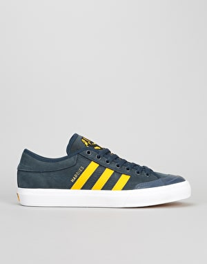 Adidas Matchcourt Skate Shoes - Collegiate Navy/Customized/White