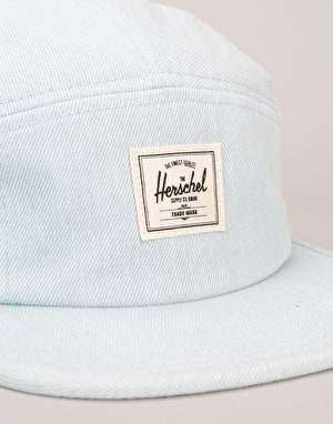 Herschel Supply Co. Glendale 5 Panel Cap - Bleached Light Denim