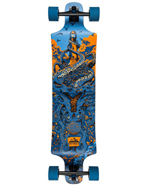 D Street Underwater Shipwrecked Drop Down Longboard - 40