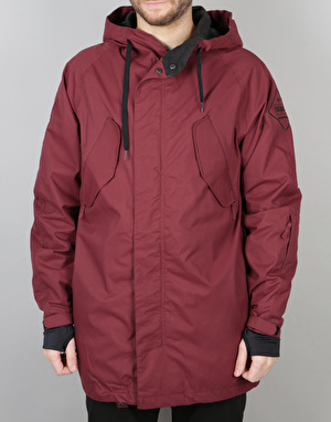 Thirty Two Deep Creek Parka 2017 Snowboard Jacket - Burgundy