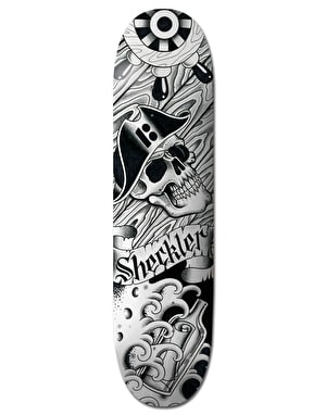 Plan B Sheckler Aces BLK ICE Pro Deck - 8.25