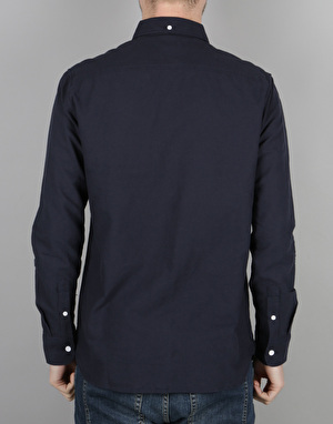 DC Oxford 3 L/S Shirt - Dark Indigo