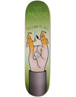 Toy Machine Welcome to Hell Team Deck - 8.25