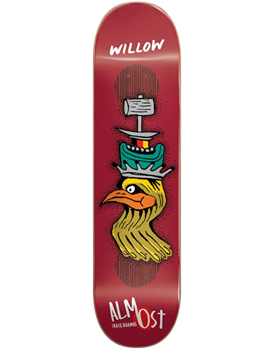 Almost Willow Bird Shits Impact Plus Pro Deck - 8.375""