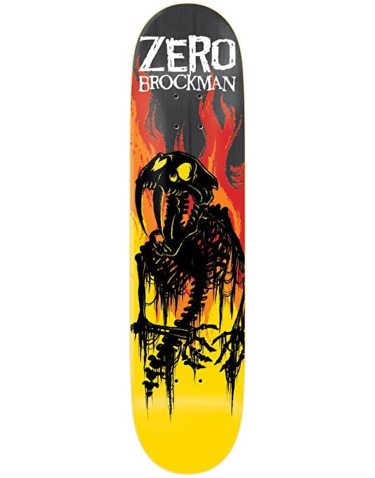Zero Brockman From Hell Impact Light Pro Deck - 8.5""