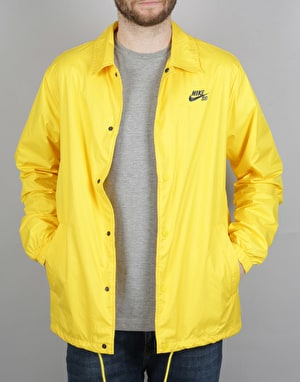 Nike SB Shield Coaches Jacket - Tour Yellow/Obsidian