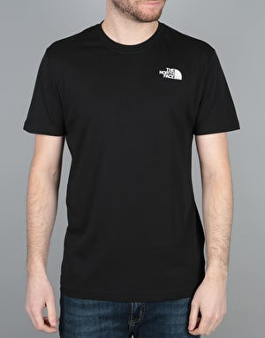 The North Face S/S Red Box T-Shirt - Black
