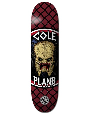 Plan B Cole Savages BLK ICE Pro Deck - 8.5
