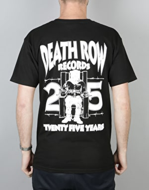 The Hundreds x Death Row Records 25th T-Shirt - Black
