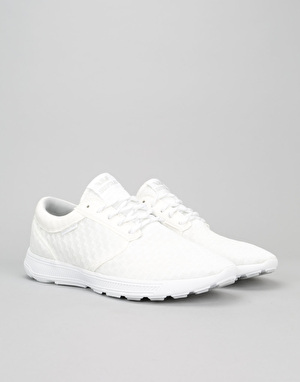 Supra Hammer Run Shoes - White/White