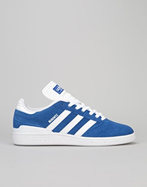 Adidas Busenitz Skate Shoes - Collegiate Royal/White/White