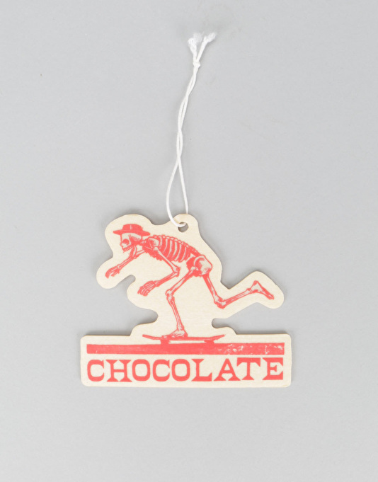 Chocolate El Chocolate Air Freshener - Red