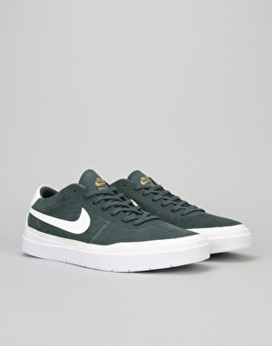 Nike SB Bruin Hyperfeel Skate Shoes - Swd/Summit Wht-Wht-Mtlc-Gold