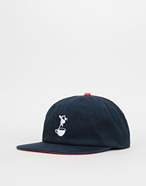 Lovenskate Drink Tea Get Rad Snapback Cap - Navy
