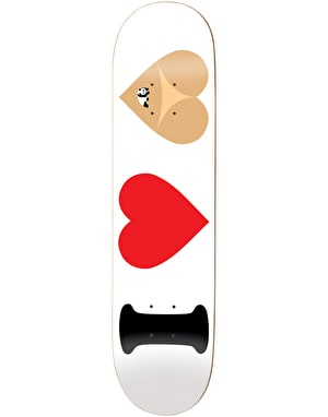 Enjoi I Heart Hearts Skateboard Deck - 8.375