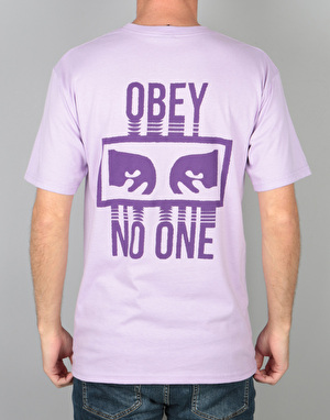 Obey No One T-Shirt - Lavender