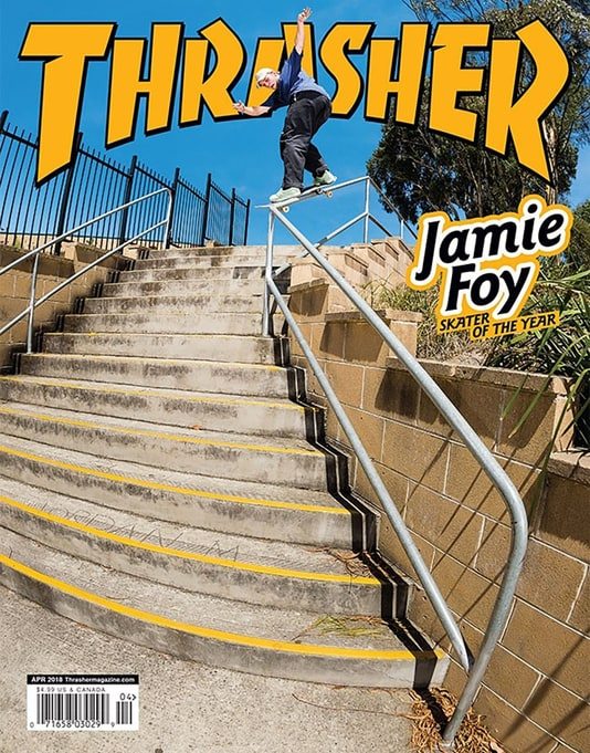 Thrasher Magazine Issue 453 April 2018