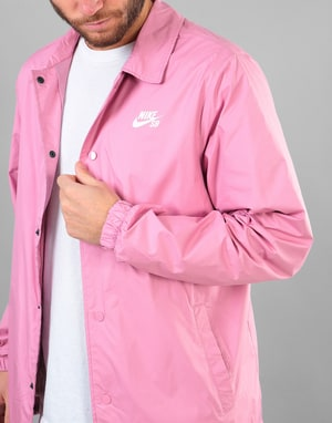 Nike SB Shield Coaches Jacket - Elemental Pink/White