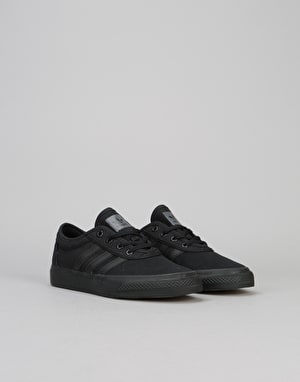 Adidas Adi-Ease Boys Skate Shoes - Core Black/Ftwr White/Core Black