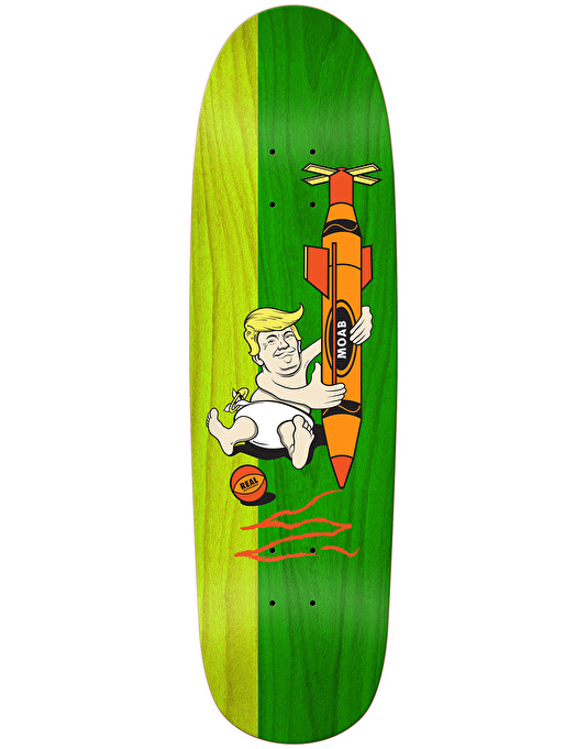 Real Big Baby Skateboard Deck - 9.3""