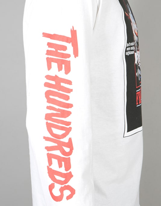 The Hundreds x Friday The 13th Scream L/S T-Shirt - White