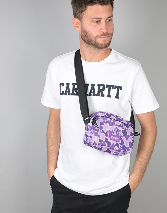 RIPNDIP Invisible Cross Body Bag - Purple Camo
